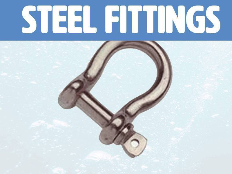 Steel fittings & Shackles Marine Parts Direct
